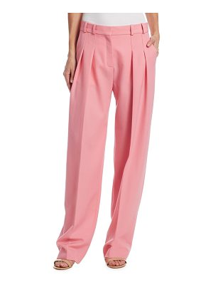 Victoria by Victoria Beckham wool two-pleat pants