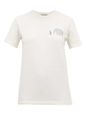 Vika Gazinskaya illustration print cotton t shirt