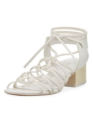 Vince Beaumont Knotted Leather Sandals