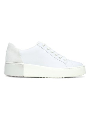 Vince bensley leather platform sneakers