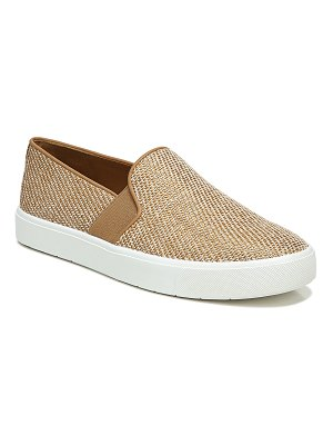 Vince Blair Bicolor Canvas Laceless Sneakers
