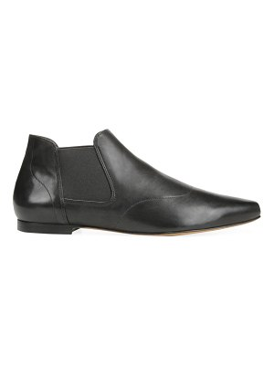 Vince camrose leather point toe ankle boots