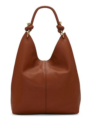 Vince Camuto aubre knotted top handle leather hobo