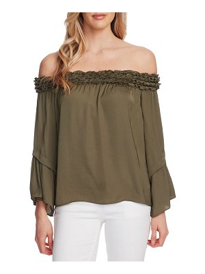 Vince Camuto bell sleeve off the shoulder top