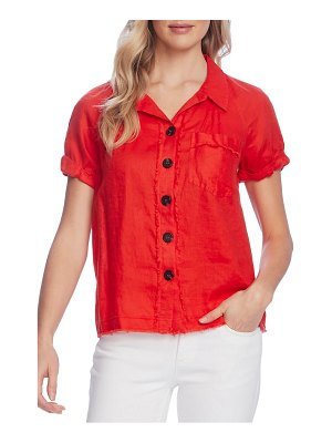 Vince Camuto button up linen shirt