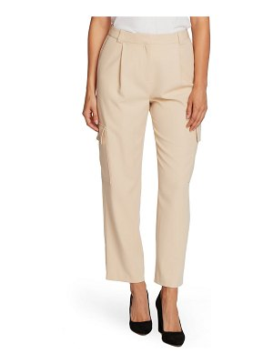 Vince Camuto cargo detail textured twill pants
