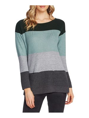 Vince Camuto colorblock pocket sweater