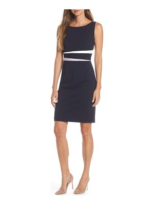 Vince Camuto colorblock sheath dress