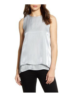 Vince Camuto double layer sleeveless top