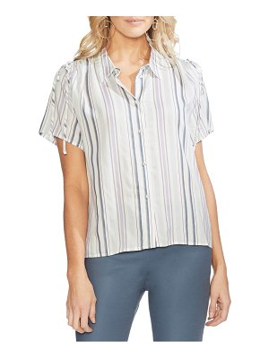 Vince Camuto drawstring shoulder button down shirt