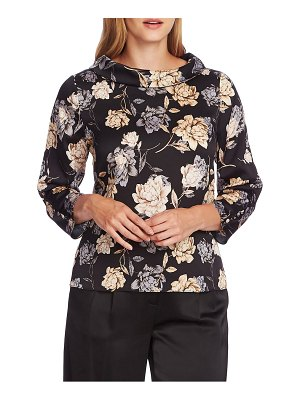 Vince Camuto floral print bell sleeve top