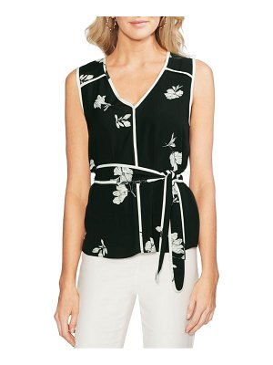 Vince Camuto floral print sleeveless top