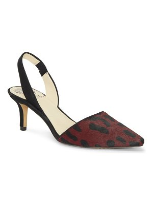Vince Camuto kolissa3 genuine calf hair slingback pump