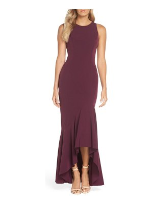 Vince Camuto high/low trumpet gown