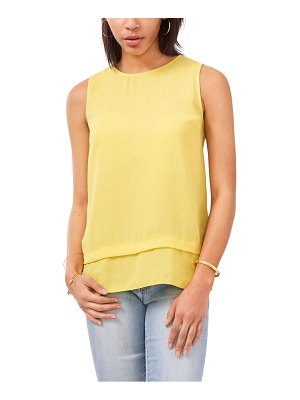 Vince Camuto layered sleeveless blouse