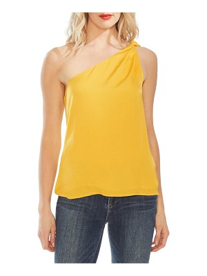 Vince Camuto one-shoulder rumple blouse