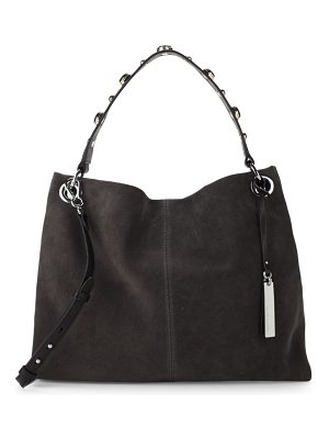 Vince Camuto Open Leather Hobo Bag