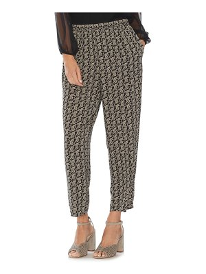 Vince Camuto paisley pull-on pants
