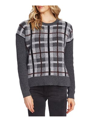 Vince Camuto plaid sweater
