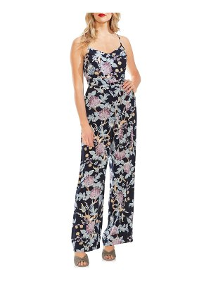 Vince Camuto poetic blooms belted sleeveless jumpsuit