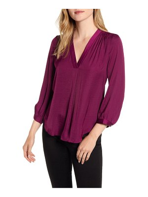 Vince Camuto rumple fabric blouse