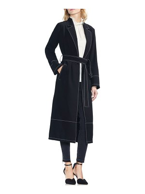 Vince Camuto stetch crepe trench coat