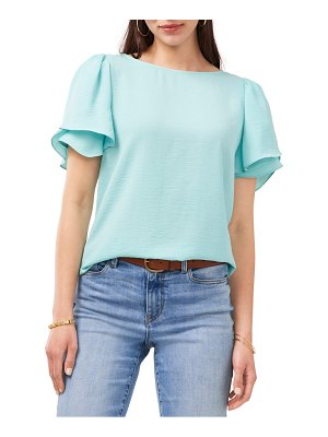 Vince Camuto tiered sleeve blouse