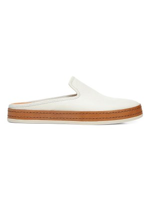 Vince canella leather slip-on sneakers