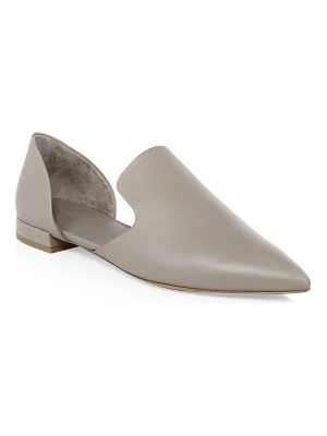Vince damris leather flat mules