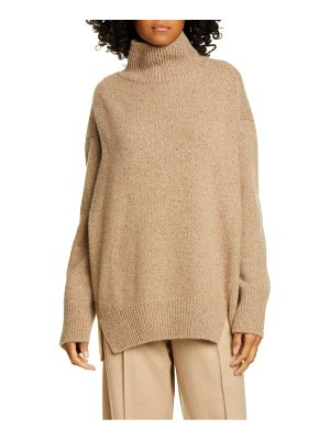 Vince double slit cashmere turtleneck sweater