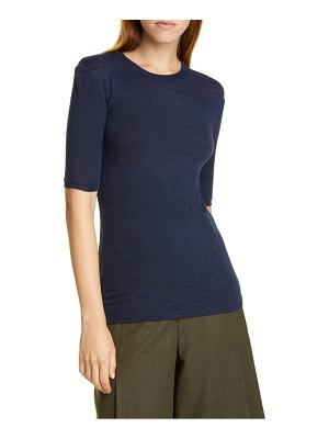Vince elbow sleeve wool tee
