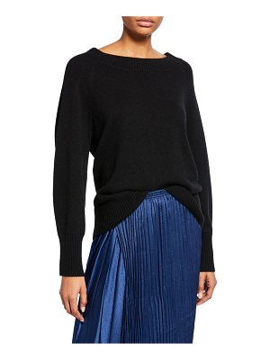 Vince Full-Sleeve Wool-Cashmere Sweater