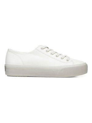 Vince heaton leather platform sneakers