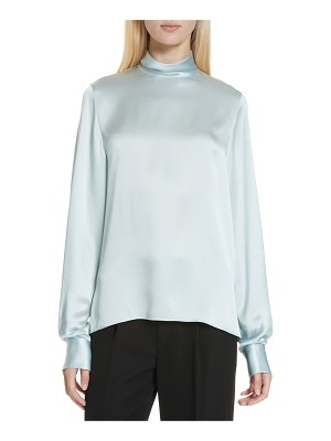 Vince high neck silk blouse