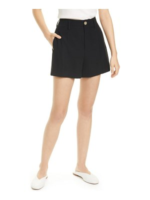 Vince high waist pleated detail shorts