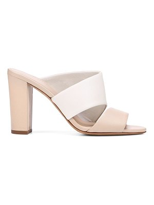 Vince hiro colorblock leather mules