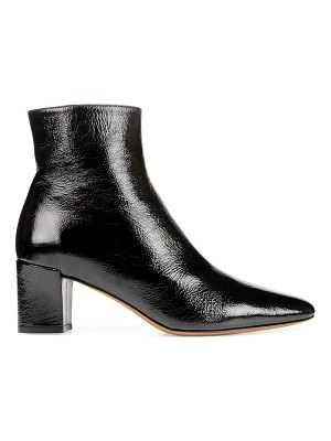 Vince lanica patent leather ankle boots