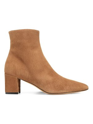 Vince lanica suede point toe ankle boots