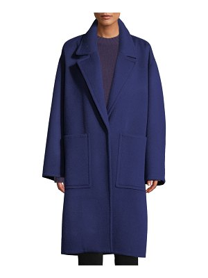 Vince Patch Pocket Wool Car Coat
