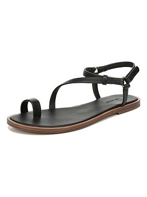 Vince Perrigan Leather Flat Sandals