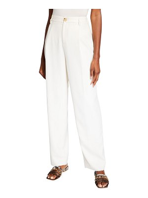 Vince Pleated Front Tapered Pants