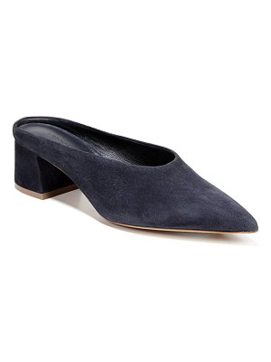 Vince Ralston Suede Pointed Mules