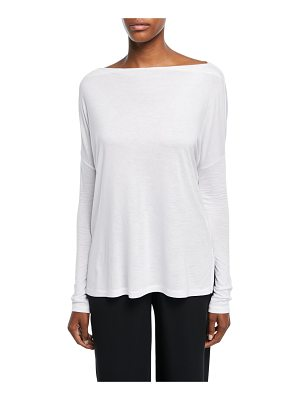 Vince Relaxed Long-Sleeve Top