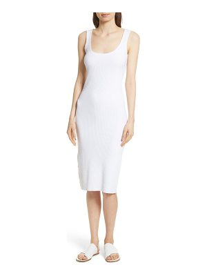 Vince ribbed tank dress