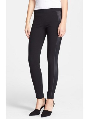 Vince satin detail leggings