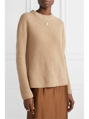 Vince shaker ribbed cashmere sweater