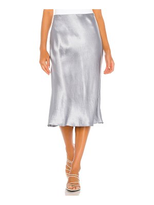Vince side slit slip skirt