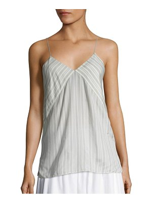 Vince Striped Silk Camisole