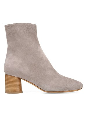 Vince tasha suede ankle boots