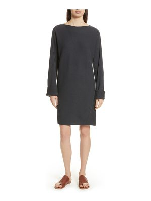 Vince twisted seam wool & cashmere sweater dress